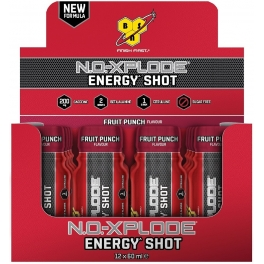 BSN No Xplode Energy Shot 12 botes x 60 ml