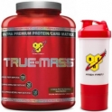 Pack BSN True Mass 2,64 Kg + Shaker 600 ml con Almacenamiento