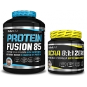 Pack BioTechUSA Protein Fusion 85 2270 gr + BCAA 8:1:1 Zero 250 gr