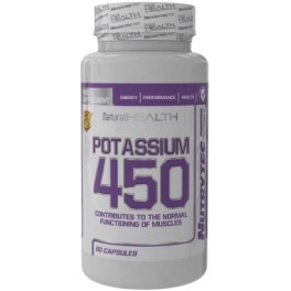 Nutrytec Potasio 450 (Natural Health) 60 caps