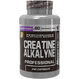 Nutrytec Creatine Alkalyne (Performance Platinum) 240 caps