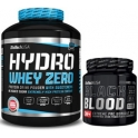 Pack BioTechUSA Hydro Whey Zero 1816 gr + Black Blood Caf+ 300 gr
