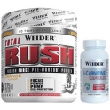Pack Weider Total Rush 375 gr + L-Carnitine Caps 45 caps