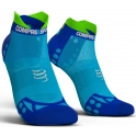 Compressport Calcetines Pro Racing Socks V3.0 Ultra Light Run Low Azul Fluor