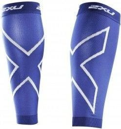 2XU Medias de Compression Calf Sleeves Punto Unisex Azul
