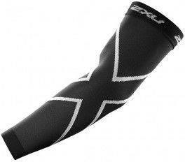 Manguitos 2XU Compression Arm Sleeves Punto Unisex Negro