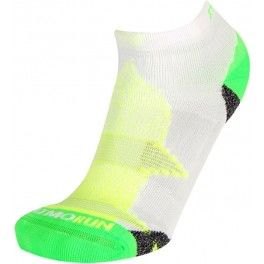 Calcetines Transpirable RYWAN Atmo Run -VERDE-AMARILLO-