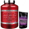 Pack Scitec Nutrition 100% Whey protein Professional 2,35 kg + Xpress 70 gr