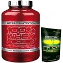 Pack Scitec Nutrition 100% Whey protein Professional 2,35 kg + G-Bomb 2.0 70 gr