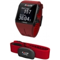 Polar Pulsometro V800 GPS Integrado + HR - Rojo