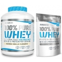 Pack BioTechUSA 100% Pure Whey 2270 gr + 100% Pure Whey 454 gr