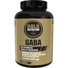 Gold Nutrition Gaba 500 mg 60 caps