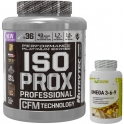 Pack Nutrytec Iso Prox Professional (Performance Platinum) 1,8 kg (4 lbs) + Nutrione Omega 3-6-9 60 caps