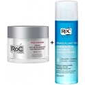RoC Pro-Define Crema Antiflacidez Reafirmante 50 ml + Locion Desmaquillante de Ojos Doble Accion 125 ml