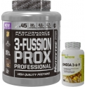 Pack Nutrytec 3-Fussion Prox Professional (Performance Platinum) 1,8 kg (4 lbs) + Nutrione Omega 3-6-9 60 caps