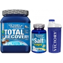 Pack Victory Endurance Total Recovery + Salts caps+ Shaker 500 ml