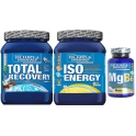 Pack Victory Endurance Total Recovery + Iso Energy + MgB6