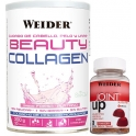 Weider Beauty Collagen - Colageno de Pescado Hidrolizado 300 gr + Joint Up Gummies 36 Gominolas
