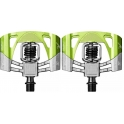 Crank Brothers Pedales Mallet 2 Negro - Verde