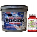Pack Amix Whey Pure Fusion 4 kg + CarniLine 30 caps