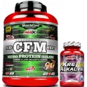 Pack Amix MuscleCore CFM Nitro Protein Isolate 2 kg + Kre-Alkalyn 30 caps