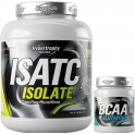 Hypertrophy Nutrition Isatc Isolate CFM 2 kg + BCAA + Glutamina 315 gr