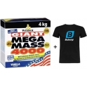 Pack Mega Mass 4000 4 kg + Camiseta Exclusiva Bulevip