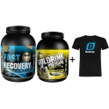 Pack Gold Nutrition Fast Recovery 1 Kg + Gold Drink Premium 750 gr + Camiseta Exclusiva Bulevip