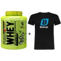 3XL Pure Whey 2 kg + Camiseta Exclusiva Bulevip