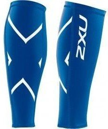 2XU Medias de Compression Calf Guard Lycra Unisex Azul