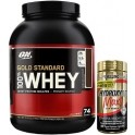 Pack Optimum Nutrition 100% Whey Gold Standard 5 Lbs (2,27 Kg) + Hydroxycut Max For Women 60 caps