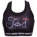 Trend Top Fitness Mujer Lazo Black