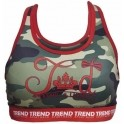 Trend Top Fitness Mujer Militar