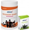 Pack Etixx Recovery Shake 1500 gr + Multimax 45 tabs