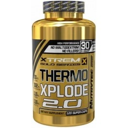 Nutrytec Xtrem Thermo Explode 2.0 120 caps