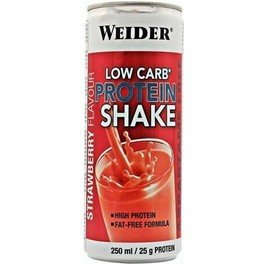 Weider Low Carb Protein Shake 24 latas x 250 ml