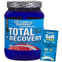 Pack Victory Endurance Total Recovery 1250 gr + Salt Caps 1 pack duplo x 2 caps