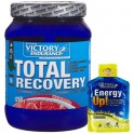 Pack Victory Endurance Total Recovery 1250 gr + Energy Up! Gel 1 gel x 40 gr