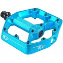 Crank Brothers Pedales Stamp 3 Azul Electrico