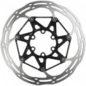 Sram Disco Freno Centerline 2 Piezas 160 mm Negro-Biselado