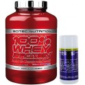 Pack Scitec Nutrition 100% Whey protein Professional 2,35 kg + BCAA 6400 60 tabs