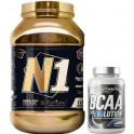 Pack Hypertrophy Nutrition Number One Isolac Optipep 2 kg + BCAA Evolution 120 caps