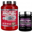 Pack Scitec Nutrition 100% Whey protein Professional + ISO 2.28 kg + BCAA Xpress 280 gr