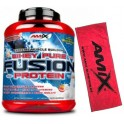 Pack Amix Whey Pure Fusion 2,3 kg + Toalla Exclusiva Roja