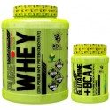 Pack 3XL Pure Whey 2 kg + Pure Glutamine + BCAA 300 gr