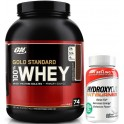Pack Optimum Nutrition 100% Whey Gold Standard 5 Lbs (2,27 Kg) + Hydroxycut Fat Burner - Quemagrasas 60 caps