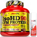 Pack Amix Pro Iso HD CFM Protein 90 1800 gr + No Fat & Cellulite Gel 75 ml