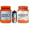 Pack InfiSport ND3 800 gr + Vitaldrink 800 gr + Bidon 750 ml