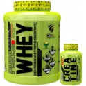 Pack 3XL Pure Whey 2 kg + 100% Pure Creatine 100 tabs