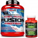 Pack Amix Whey Pure Fusion 2,3 kg + MuscleCore Detonatrol Fat Burner 30 caps